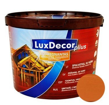 Пропитка LUXDECOR Plus 10л каштан