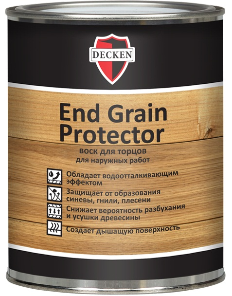 Воск для торцов Decken End Grain Protector 0,75л б/цв